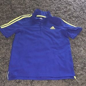 Adidas polo top size 14/16 L